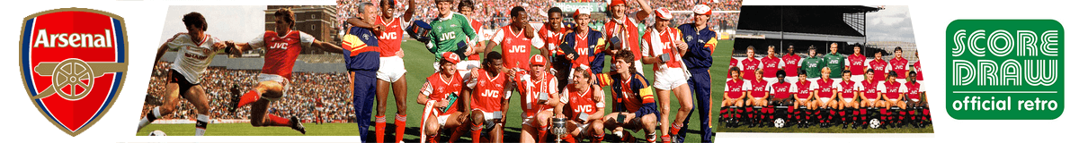 Maillots vintage Arsenal FC
