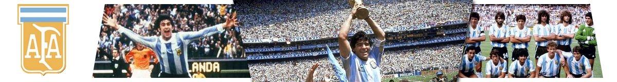 Maillots rétro Argentine
