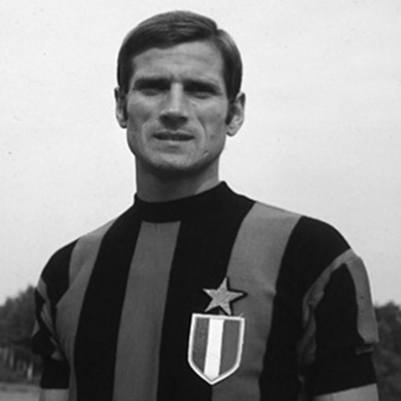Tenue foot rétro Inter années 60