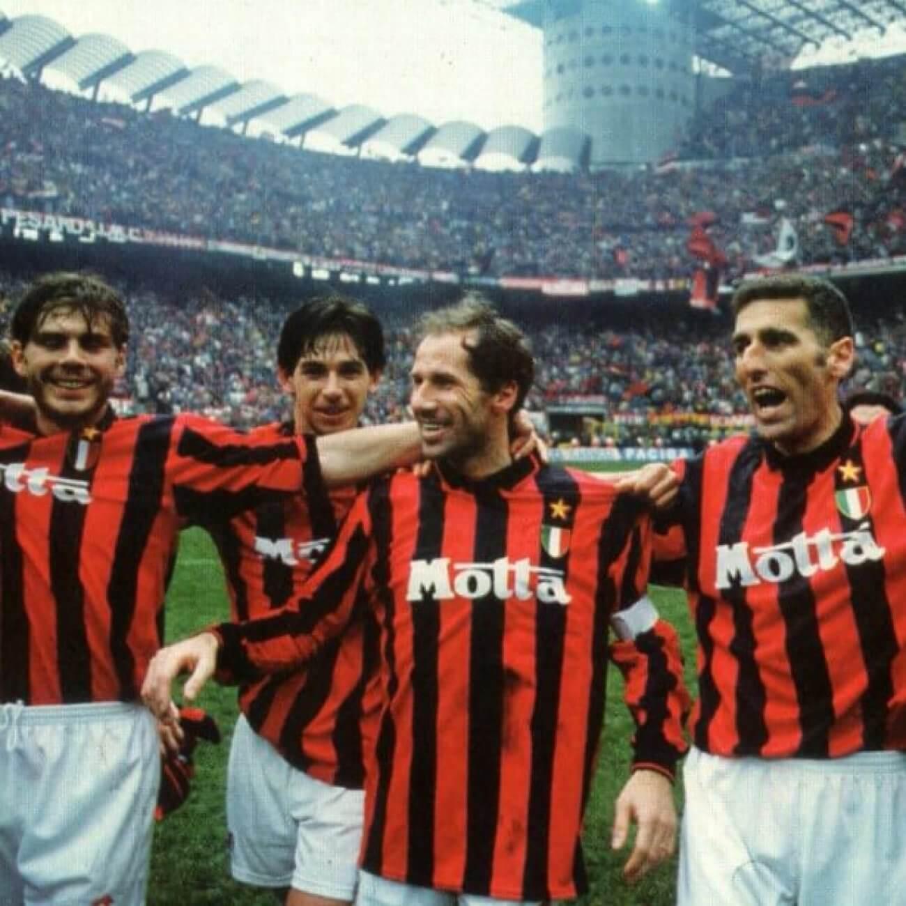 Joueurs de l'Ac Milan 1994