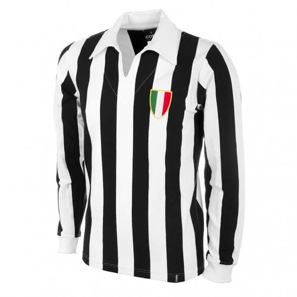 Maillot rétro Juventus années 60 manches longues