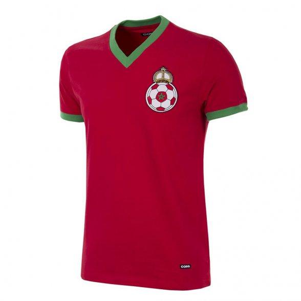 Maillot rétro football du Maroc 1970   Retrofootball®