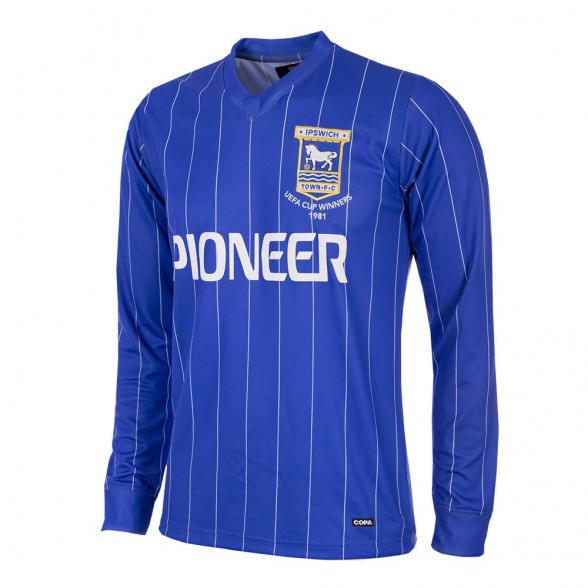 Maillot Ipswich Town 1981/82