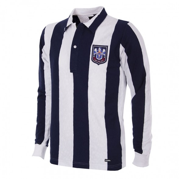Maillot West Bromwich Albion 1953/54