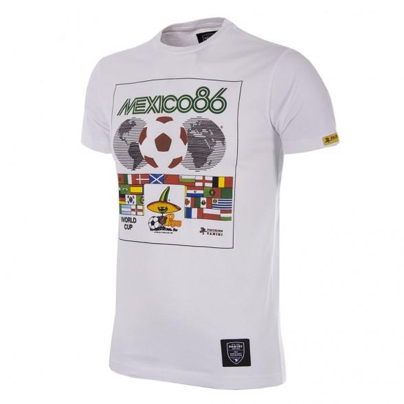 Tee-shirt Panini Coupe du Monde 1986