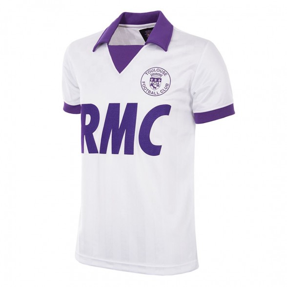 Maillot vintage Toulouse FC 1986/87 UEFA CUP