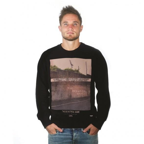 The Beautiful Game Sweater | Black