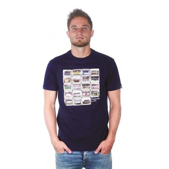 Dugouts T-Shirt | Marine Blue
