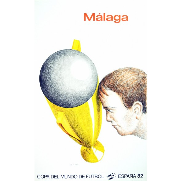 Cartel Oficial de Málaga  - La Copa de Topor