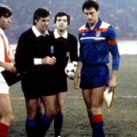 Maillot Atletico Madrid 1985-86 Extérieur