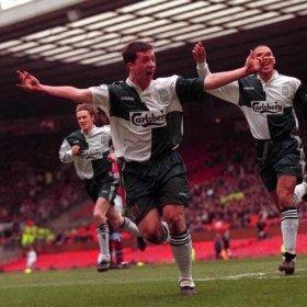 Maillot rétro Liverpool FC 1995-96 | Extérieur