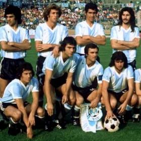 Maillot rétro Argentine 1974