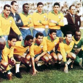 Maillot rétro Brésil années 60
