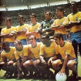 Maillot vintage Brésil 1970