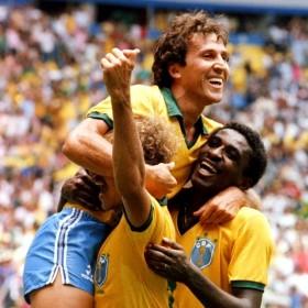Maillot Brésil 1986