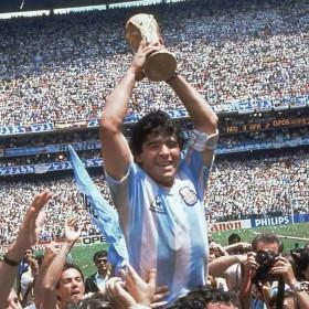 Maillot rétro Argentine Championne du Monde 1986