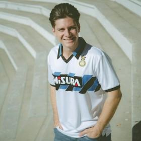 Maillot rétro Inter 1990/91 extérieur