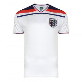 Maillot vintage Angleterre 1982
