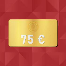 75 € E-Carte cadeau Retrofootball®