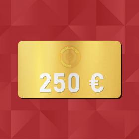 250 € E-Carte cadeau Retrofootball®