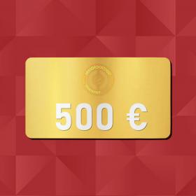 500 € E-Carte cadeau Retrofootball®