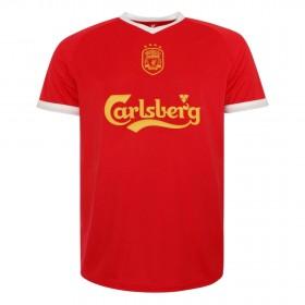 Maillot rétro Liverpool FC 2001-03