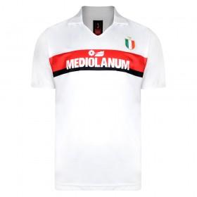 Maillot vintage AC Milan 1988/89 Extérieur