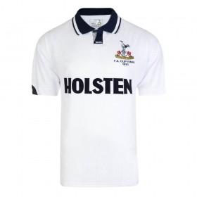 Maillot rétro Tottenham Hotspur 1991 FA Cup Final