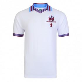 Maillot rétro West Ham 1980 blanc