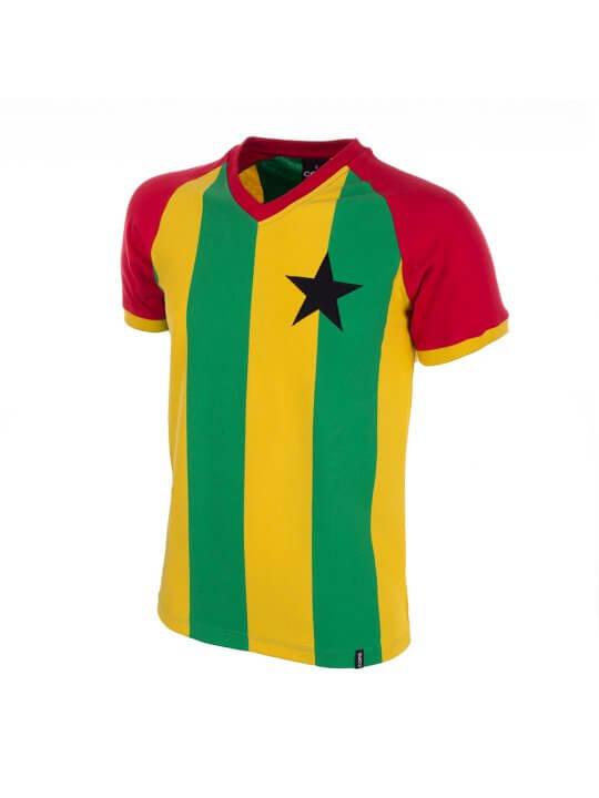 Maillot rétro Ghana années 80