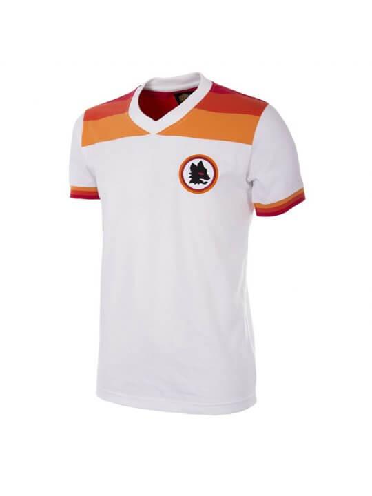 Maillot rétro AS Roma 1979/80 extérieur