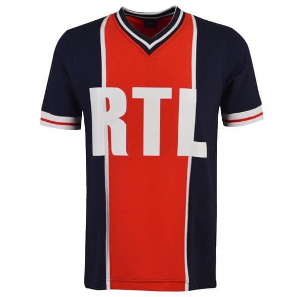Maillot vintage Paris RTL 1976-79