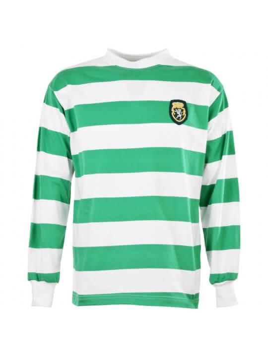 Maillot rétro Sporting Lisbonne annèes 50/60
