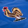 Détail du logotype du Coq du maillot de foot de l'équipe de France des années 50.