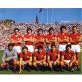 Image d'époque des joueurs de l'AS Roma