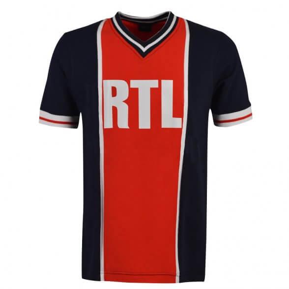 Maillot vintage Paris RTL 1976-79 | Enfant
