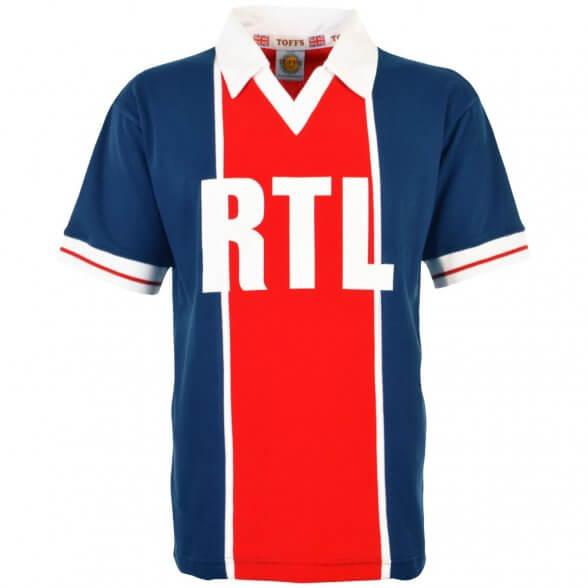 Maillot vintage Paris RTL 1982 | Enfant