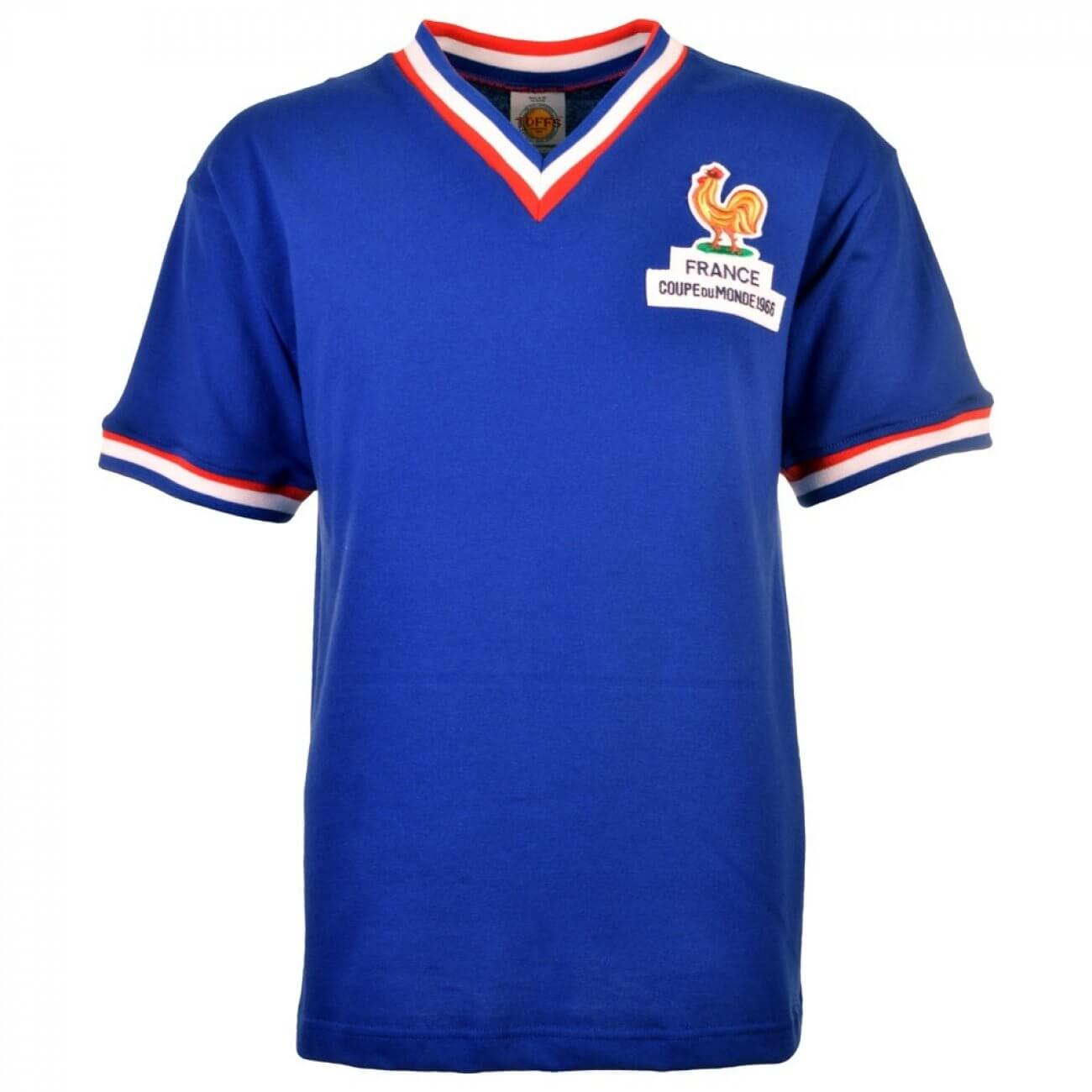 best place new appearance huge discount Maillot rétro France 1966