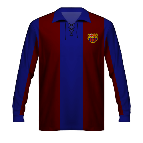 Maillot FC Barcelone 1912
