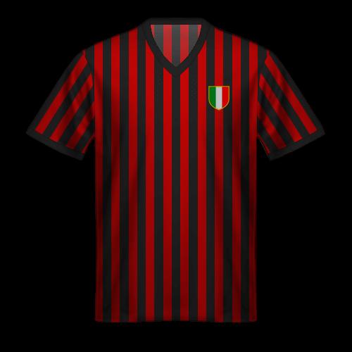 Camiseta Milan 1962-63