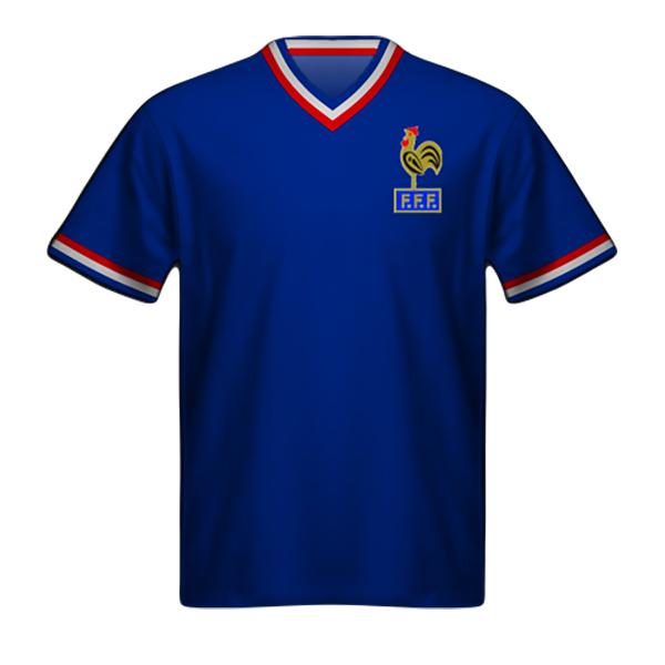 Camiseta Francia 1972