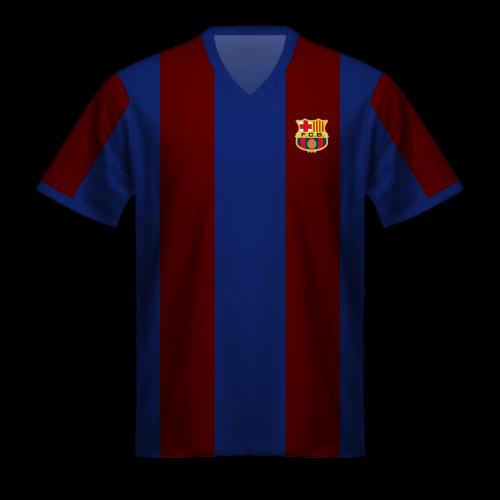 Maillot FC Barcelona 1973/74, le maillot blaugrana de Johan Cruyff