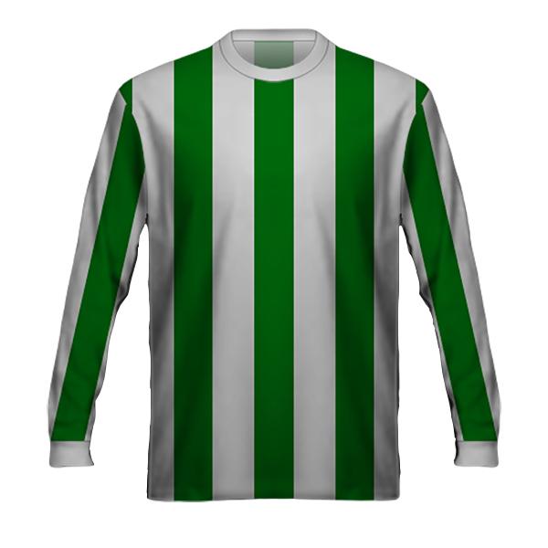Camiseta Francia Verde Blanca 1978