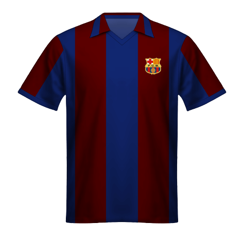 Maillot FC Barcelone 1980-81