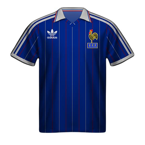 Camiseta Francia 1982