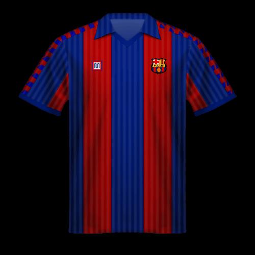 Maillot FC Barcelona 1990/91