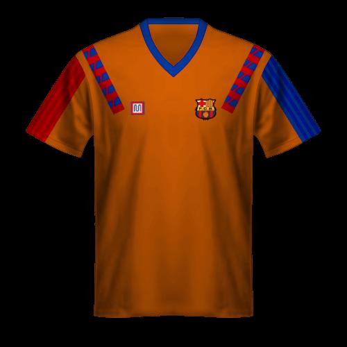 Maillot FC Barcelone 1992 Extérieur, Finale de la Ligue des Champions de 1992