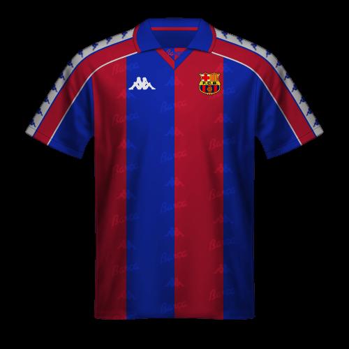 Maillot FC Barcelona 1992/93