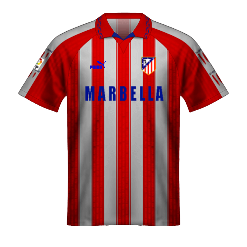 Camiseta Atletico Madrid 1995-96 doblete