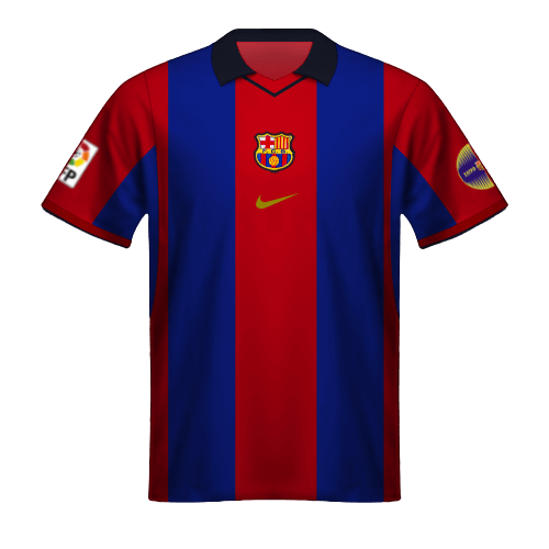 Camiseta FC Barcelona 2000/01